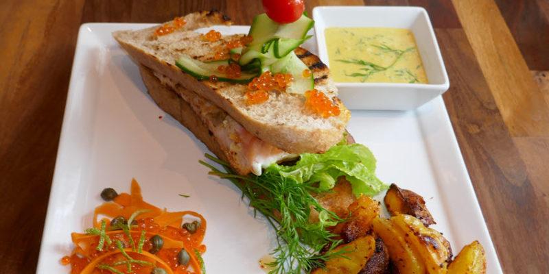 Laksesandwich aperitivo intervju