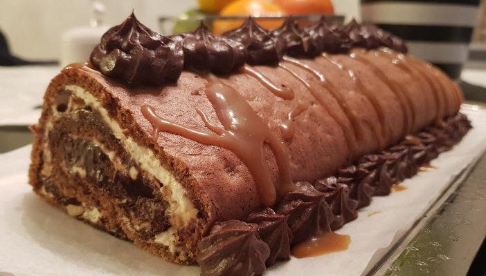 fett og forstand snickersrullekake